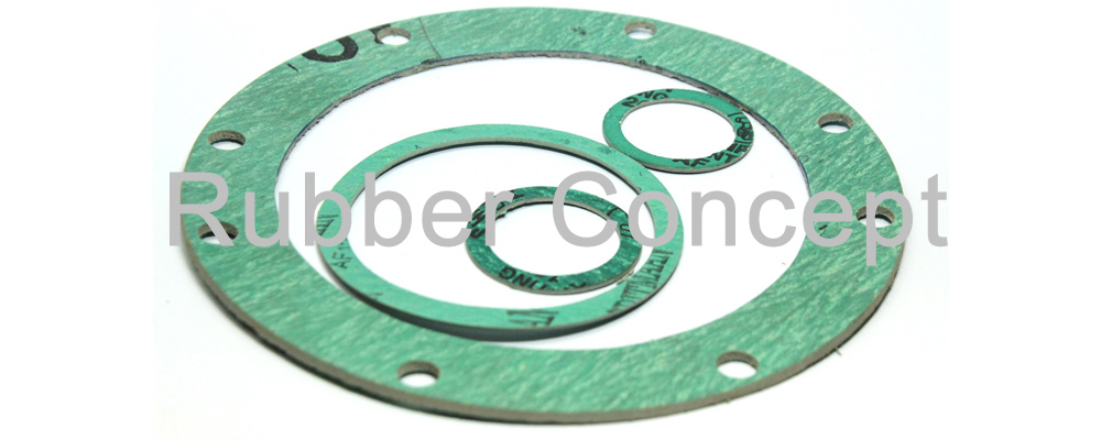 Rubber concept compressed non asbestos joint gasket
